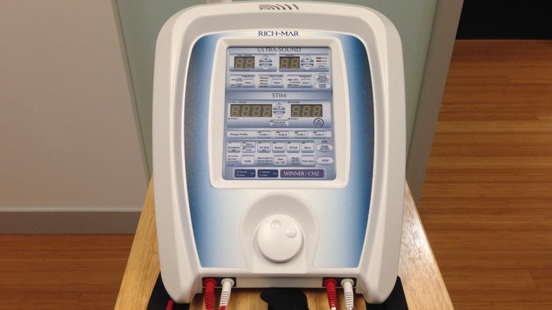 Ultrasound & gel therapy