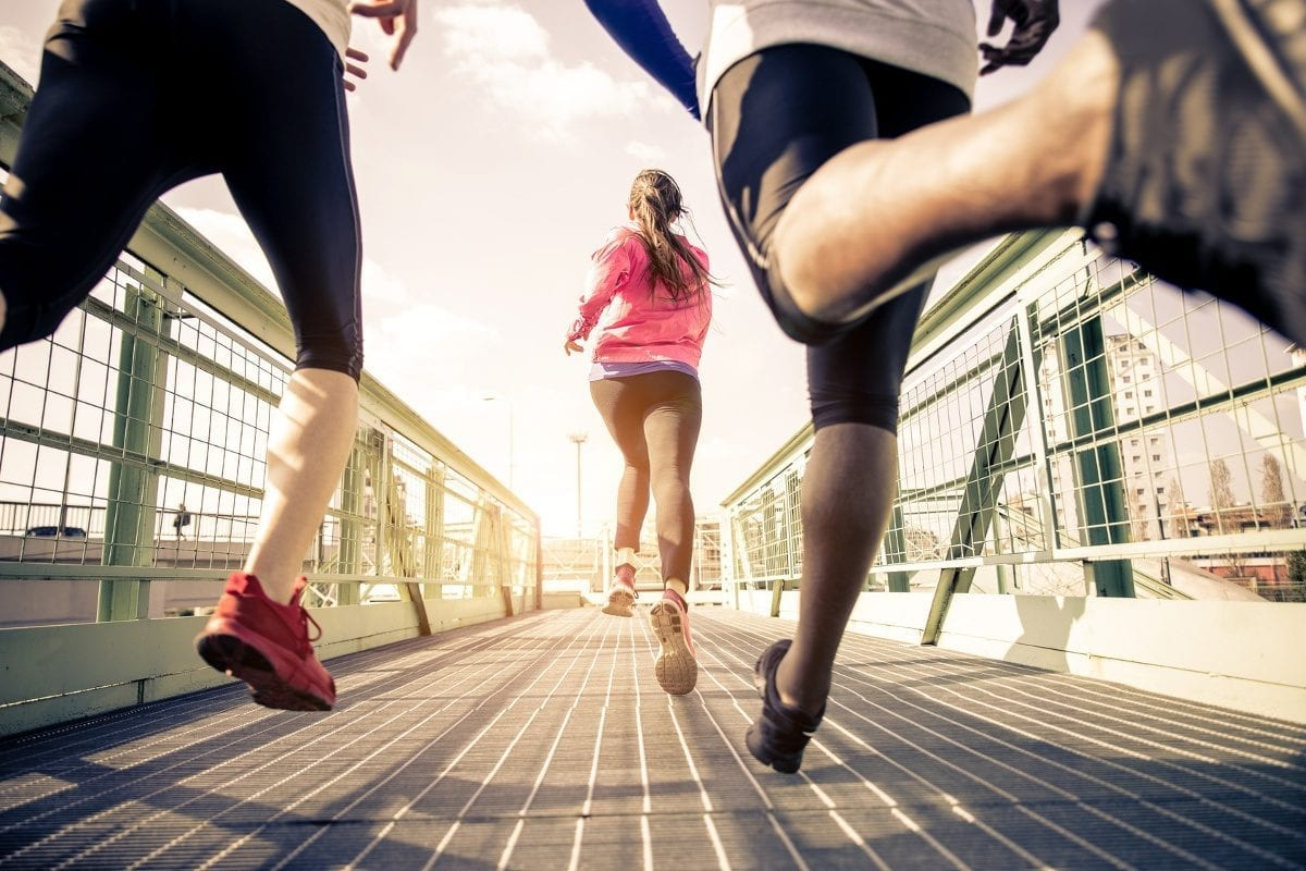Running injuries therapy