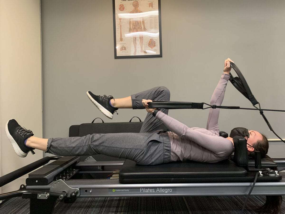 our Clinical Pilates Instructor is available in downtown Vancouver physiotherapy clinic